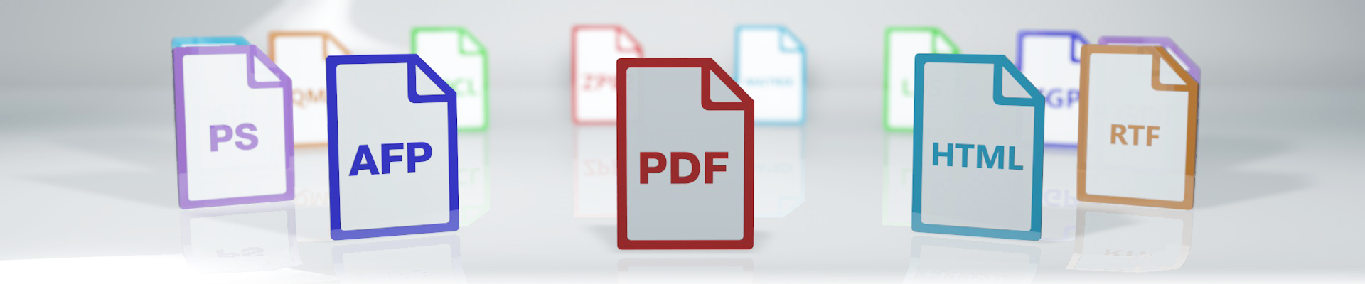 Document generation and output PRINT formats PCL, PostScript